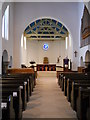 TQ3195 : Interior of St. Peter's Church, Grange Park by Paul Bryan