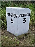 SW9471 : Old Milestone by Ian Thompson