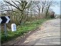 SW8452 : Old Milestone by Ian Thompson