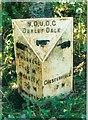 SK3064 : Old Milepost by A Rosevear & J Higgins