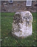 NZ1220 : Old Milestone by the A688, Staindrop by C Minto & IA Davison