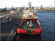 NT2677 : 'Ocean Investigator' in Western Harbour by M J Richardson
