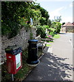 ST6979 : Street furniture, Westerleigh Road, Westerleigh by Jaggery