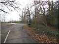TQ0184 : Alderbourne Lane at the junction of Fulmer Common Road by David Howard