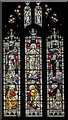 SK7081 : Stained glass window, St Swithun's church, Retford by Julian P Guffogg