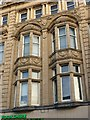 SE3033 : Bay windows, Yorkshire Building Society building by Alan Murray-Rust
