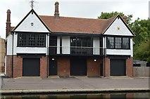 TL4559 : Trinity Hall Boathouse by N Chadwick