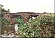 SK6515 : Rearsby Road bridge crosses the River Wreake by Tim Glover