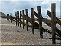 TG1743 : Sea defences and beach near West Runton by Mat Fascione