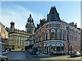 SE2933 : Great George Street and Leeds Town Hall by Alan Murray-Rust