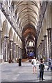 SU1429 : The Nave, Salisbury Cathedral by Richard Sutcliffe