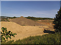 SE2320 : Former quarry near Thornhill (2) by Stephen Craven