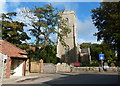 TG1143 : All Saints church at Weybourne by Mat Fascione