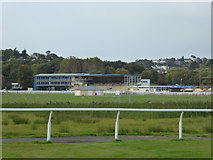 SX8672 : Newton Abbot Racecourse from Hackney Marshes Nature Reserve by Chris Allen