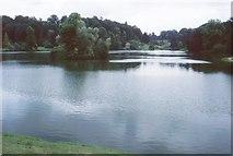 ST7733 : Garden Lake, Stourhead Gardens by Richard Sutcliffe