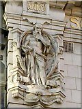SE2933 : Scottish Union and National Insurance Company building, Park Row, Wisdom by Alan Murray-Rust