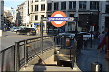 TQ3280 : Monument Station by N Chadwick