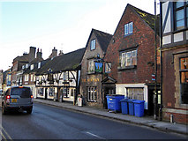 SU1429 : The New Inn, New Street, Salisbury by Robin Webster