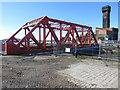 SJ3289 : Bridge replacement works, Tower Road, Birkenhead by Graham Robson