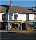 ST0207 : Cullompton: charity shop by Martin Bodman