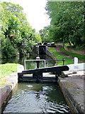 SO8685 : Stourton Locks in Staffordshire by Roger  Kidd