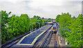 TQ1674 : St Margaret's station, 2005 by Ben Brooksbank