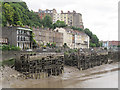 ST5672 : Wooden jetties on the Avon by Stephen Craven