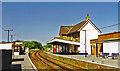 SZ5984 : Sandown station, Isle of Wight 1997 by Ben Brooksbank