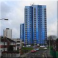 SJ9400 : Wednesfield Tower Blocks by John M