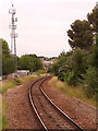 ST5974 : Railway track west of Montpelier station by Stephen Craven