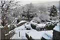 NT2540 : Boxing Day snow, Peebles by Jim Barton
