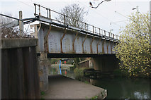 TL3706 : Railway bridge south of Broxbourne station by David Kemp
