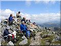 NM9062 : Summit area of Garbh Bheinn by Trevor Littlewood
