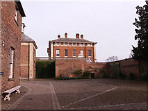 SE5158 : Beningbrough Hall, west side and laundry yard by Stephen Craven