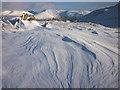 NY2809 : Drifting snow, Codale head by Karl and Ali