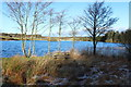 NX2764 : Picnic Table at Loch Heron by Billy McCrorie