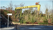 J3574 : Landscaping, Ballymacarrett Road, Belfast (December 2017) by Albert Bridge