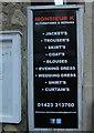 SE3457 : Greengrocer's apostrophes, Knaresborough by Derek Harper