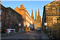 SK1109 : The Close, Lichfield Cathedral by Bill Boaden