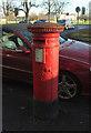 SE3155 : Victorian postbox, Harrogate by Derek Harper