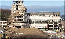 NZ2742 : Demolition of Milburngate House by Trevor Littlewood