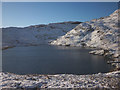 NY2908 : Codale Tarn in winter by Karl and Ali