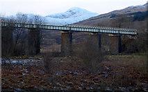 NN3825 : Glenbruar Viaduct by Thomas Nugent