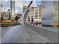 SJ3390 : Princes Dock Footbridge by David Dixon