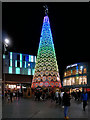 SJ3490 : Christmas Tree on Paradise Street by David Dixon