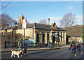 SE1338 : The Mill Building, Saltaire by Des Blenkinsopp