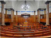 SJ3490 : Former Crown Court, St George's Hall by David Dixon