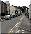ST5394 : On-street parking, Lower Church Street, Chepstow by Jaggery