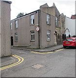 ST5394 : Corner of Myrtle Place and Lower Church Street, Chepstow by Jaggery