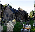 SS8986 : Grade I listed Church of St David, Bettws by Jaggery